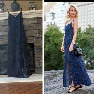 Dynamite Blue Maxi Dress - size Small